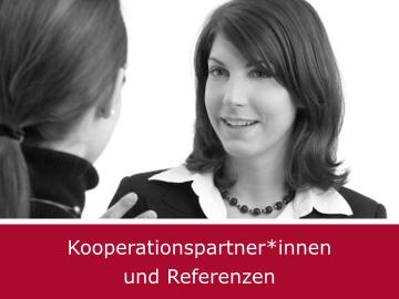 Kooperationspartner*innen und Referenzen